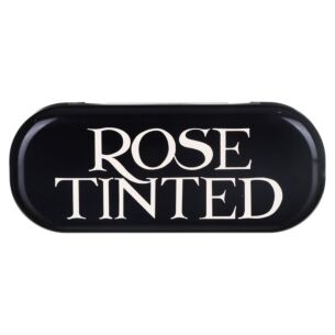 'Rose Tinted' Black Toast Glasses Case