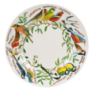 Emma Bridgewater Garden Birds Two Tone Melamine Plate