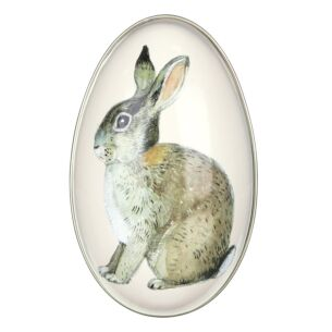 Medium 'Bunny' Egg-Shaped Tin