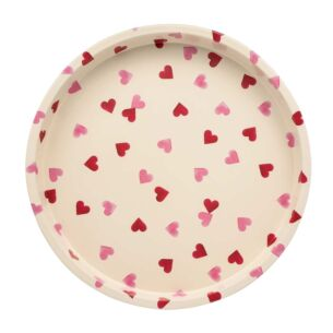 Pink Hearts Deepwell Tray