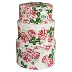 Set of Three Round Cake Tins