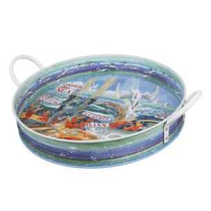 Under The Sea Large Handle Tray