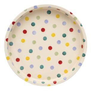 Polka Dots Deepwell Tray