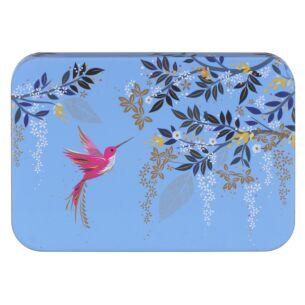 Hummingbird Blue Pocket Tin