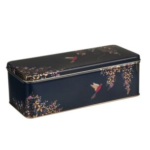 Long Deep Rectangular Birds Tin