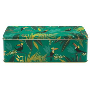 Long Deep Rectangular Toucan Tin
