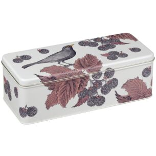 Blackbird & Bramble Long Rectangular Tin