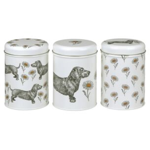 Dog & Daisy Set of 3 Caddies