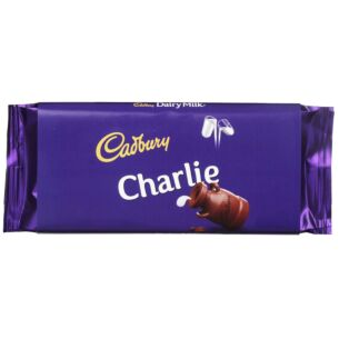 'Charlie' 110g Dairy Milk Chocolate Bar