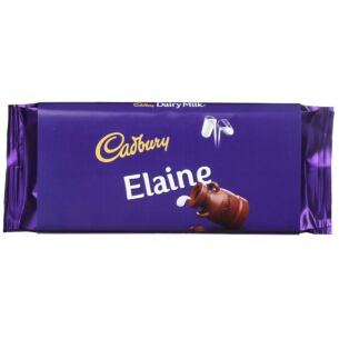 'Elaine' 110g Dairy Milk Chocolate Bar
