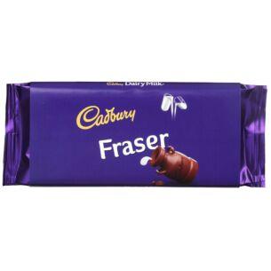 Cadbury 'Fraser' 110g Dairy Milk Chocolate Bar