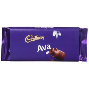 'Ava' 110g Dairy Milk Chocolate Bar