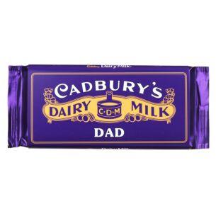 'Dad' 110g Dairy Milk Vintage Chocolate Bar