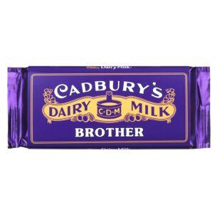 'Brother' 110g Dairy Milk Vintage Chocolate Bar
