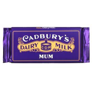 'Mum' 110g Dairy Milk Vintage Chocolate Bar