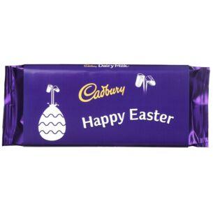 'Happy Easter' 110g Dairy Milk Chocolate Bar