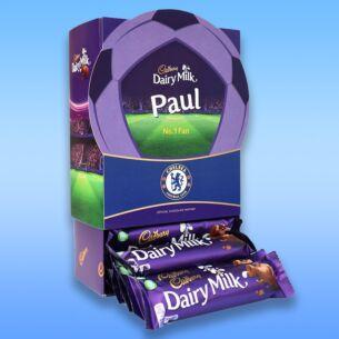 Personalised Favourites Chelsea Chocolate Bar Hamper