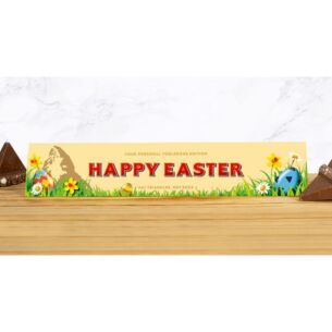 Personalised Toblerone Easter 360g Bar – Milk Chocolate