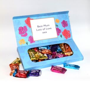 Personalised Roses Chocolates Small Letterbox 290g Selection