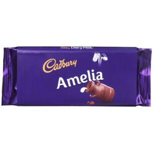 'Amelia' 110g Dairy Milk Chocolate Bar