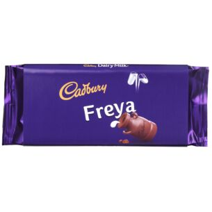 'Freya' 110g Dairy Milk Chocolate Bar