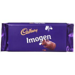 'Imogen' 110g Dairy Milk Chocolate Bar