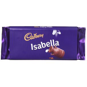 'Isabella' 110g Dairy Milk Chocolate Bar
