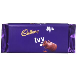 'Ivy' 110g Dairy Milk Chocolate Bar