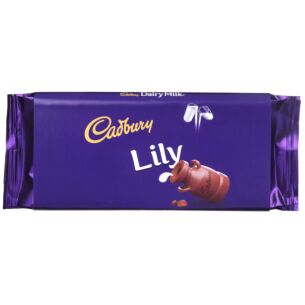 'Lily' 110g Dairy Milk Chocolate Bar