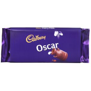 'Oscar' 110g Dairy Milk Chocolate Bar