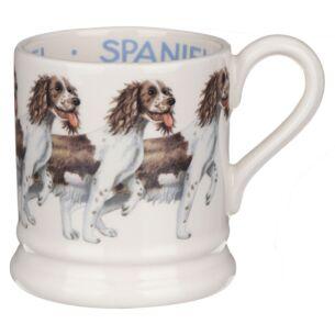 Dogs Brown & Cream Spaniel Half Pint Mug
