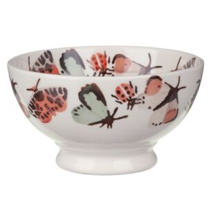 Butterflies and Bugs French Bowl