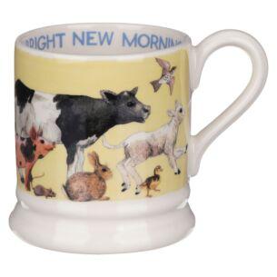 Bright New Morning Half Pint Mug