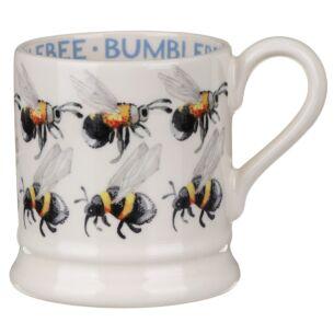 Flying Bumblebees Half Pint Mug