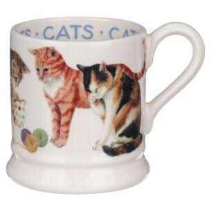 Cats All Over Half Pint Mug