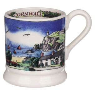 Landscape Of Dreams Cornish Beaches Half Pint Mug