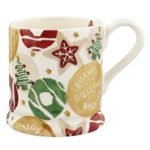 Christmas Biscuits Half Pint Mug