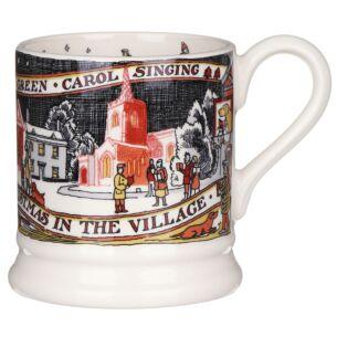 Christmas In The Village Half Pint Mug