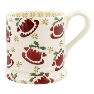 Christmas Puddings Half Pint Mug