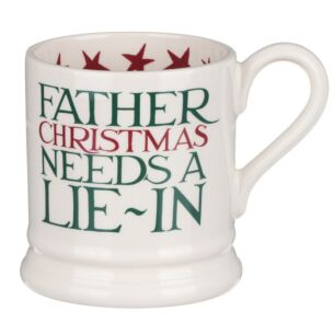 Christmas Toast 'Father Christmas' Half Pint Mug