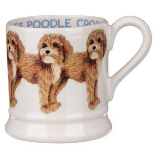 Cavalier Poodle Cross Half Pint Mug