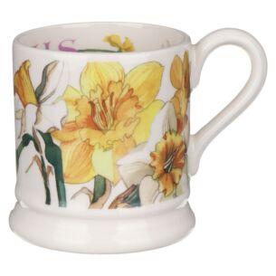 Flowers Daffodils Half Pint Mug