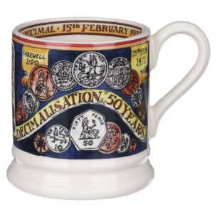 Events Pounds, Shillings and Pence Half Pint Mug