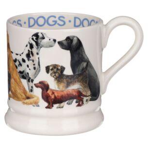 Dogs All Over Half Pint Mug