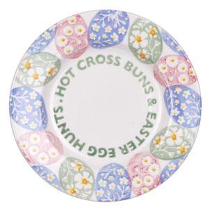 Easter Egg Hunt Hot Cross Buns 8 1/2 Inch Plate