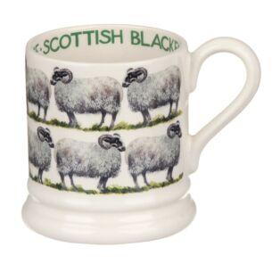 Blackface Sheep Half Pint Mug