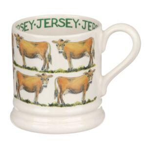 Jersey Cow Half Pint Mug