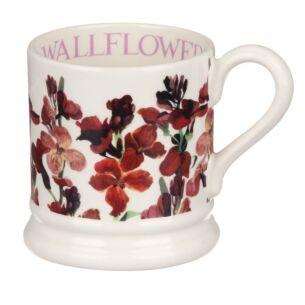 Red Wallflowers Half Pint Mug
