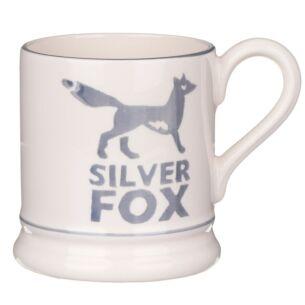 Silver Fox Half Pint Mug