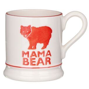 Mama Bear Red Half Pint Mug